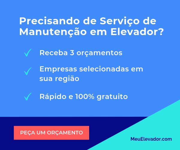 Banner Serviço de manutenção de elevador 1