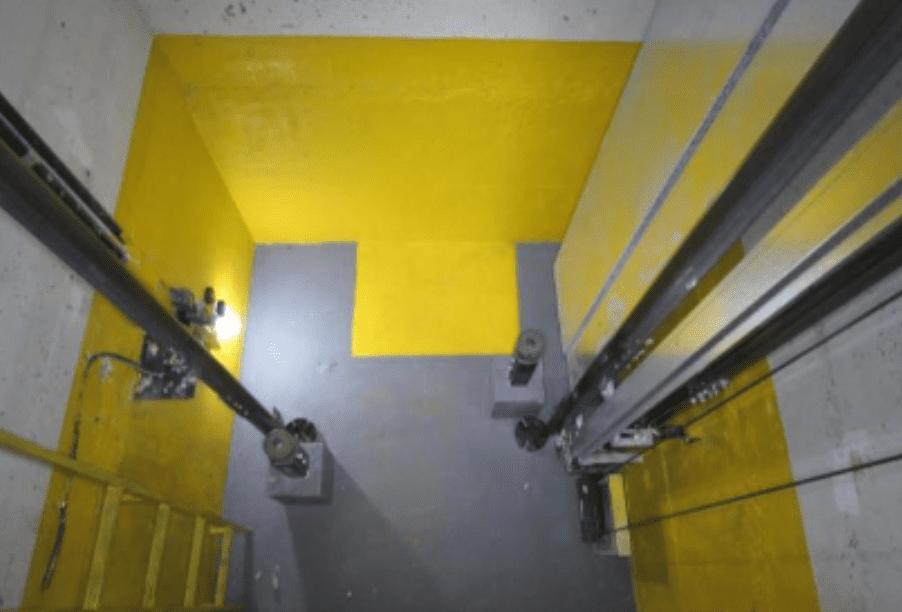 poço do elevador