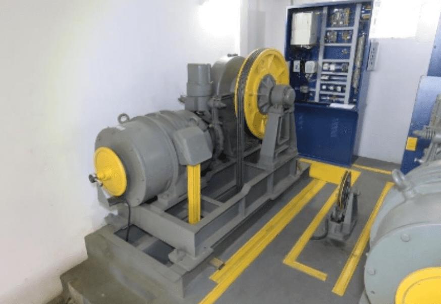 Casa de máquinas do elevador 1