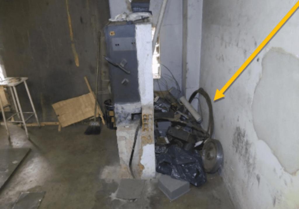 Casa de máquinas do elevador 2