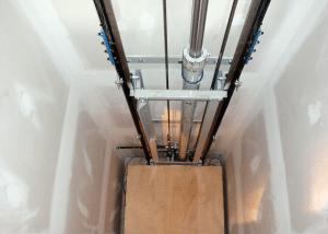 Elevador residencial hidráulico