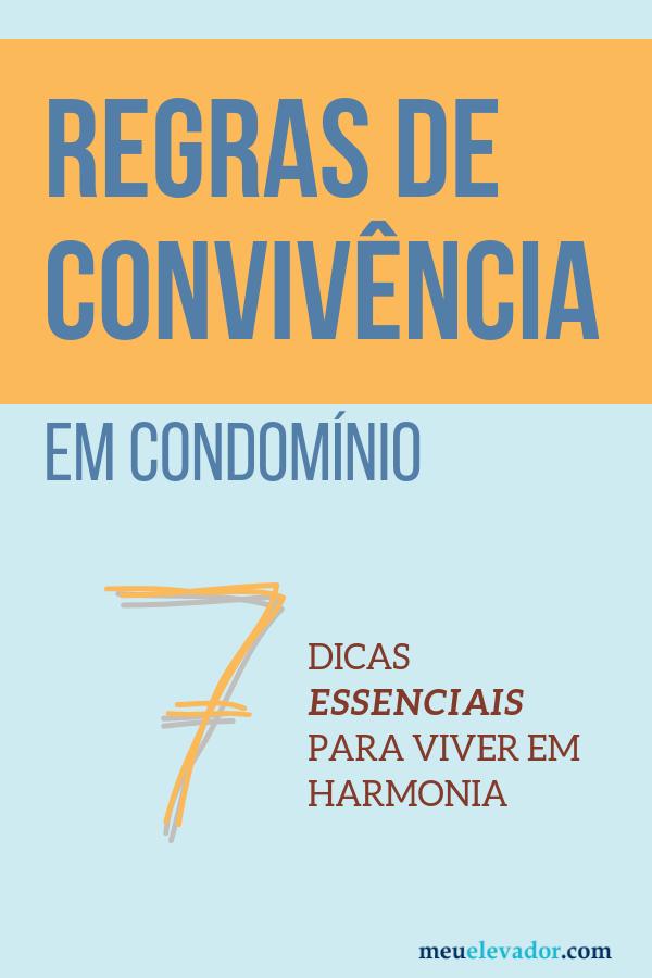 regras de convivência em condomínio