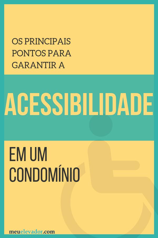 acessibilidade em condomínio