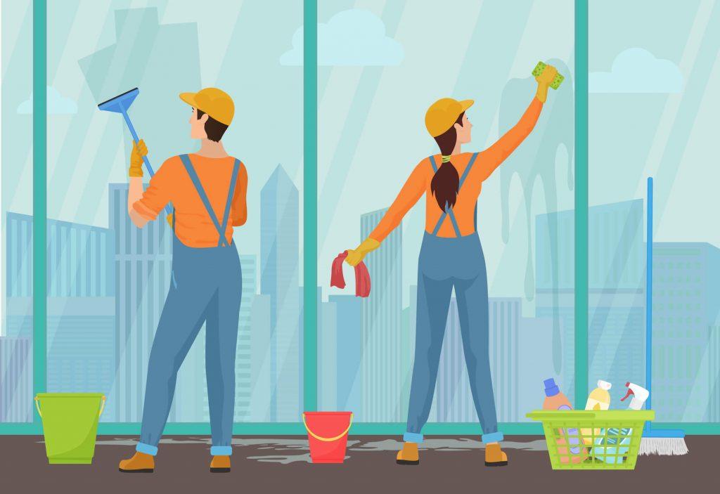 limpeza e conservação de condomínio