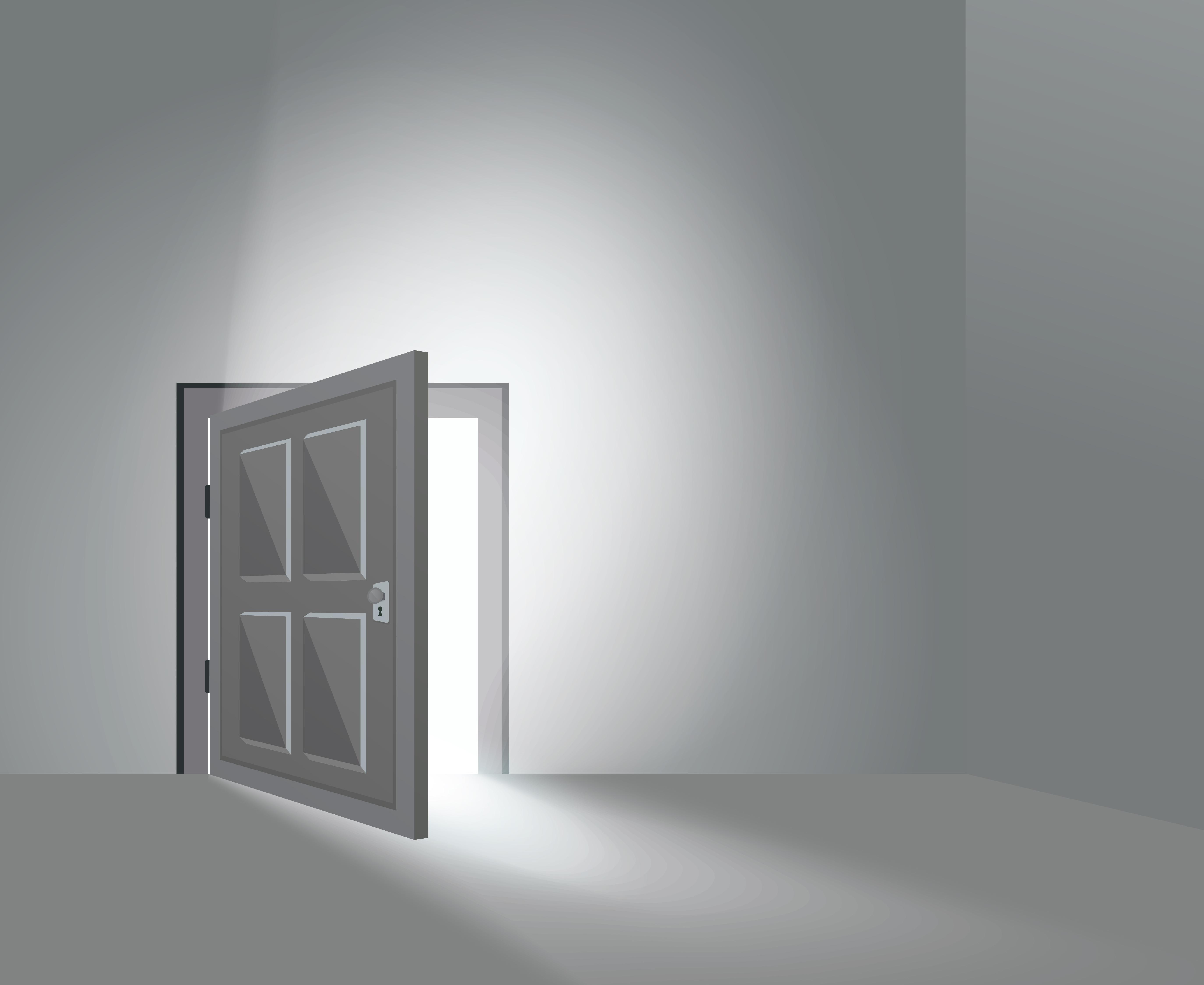 porta da casa de máquinas do elevador