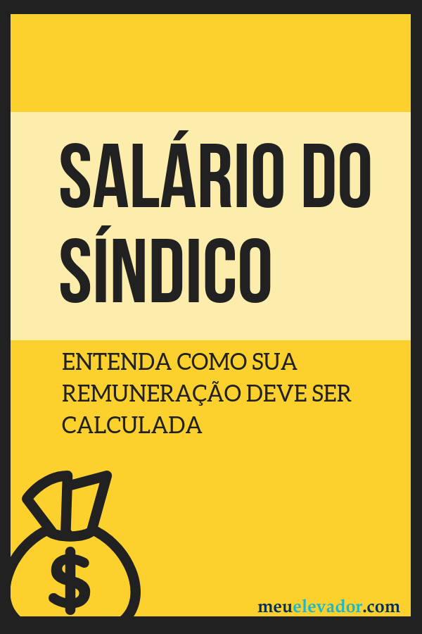 Salário do síndico