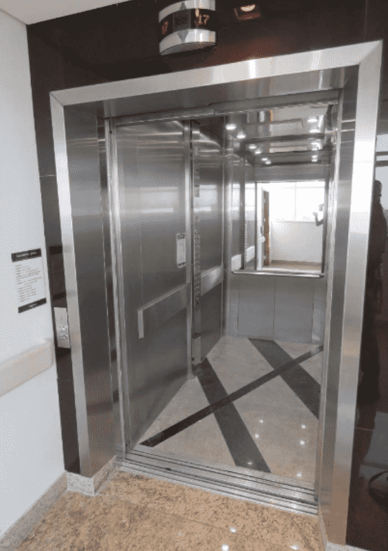 cabina do elevador