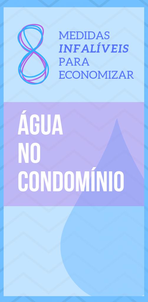 Medidas para economizar água em condominio