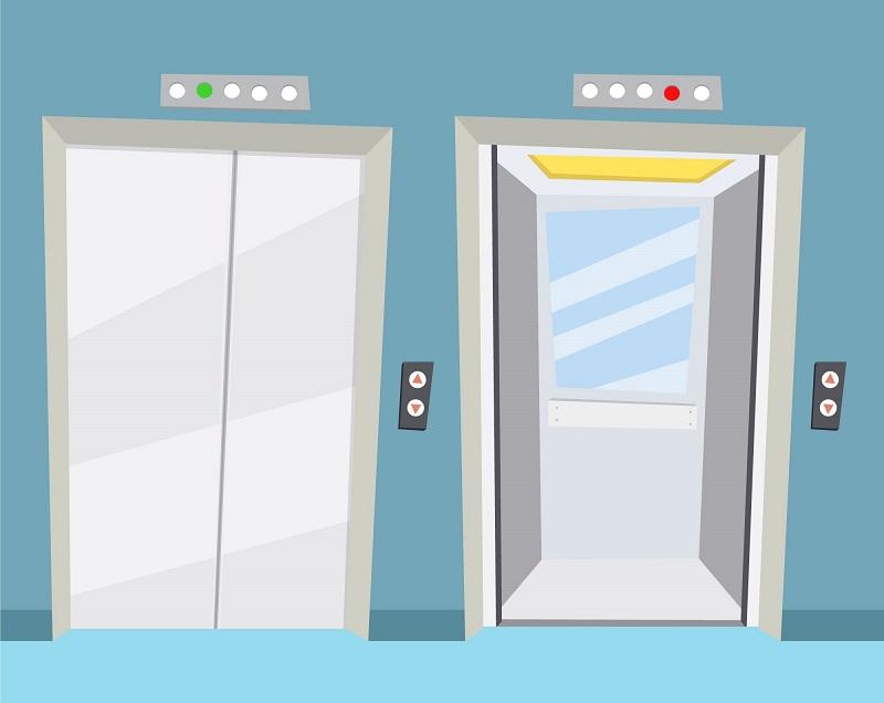 porque o elevador tem espelho