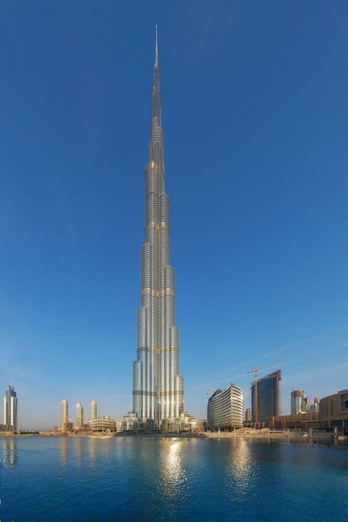 Burj-Khalifa elevador mais alto do mundo