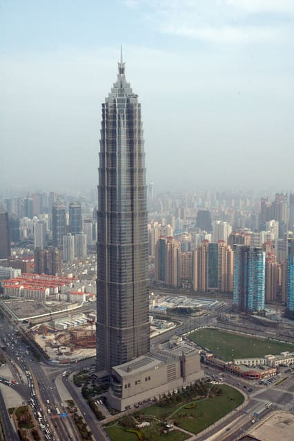 Jin Mao Tower elevador mais alto do mundo