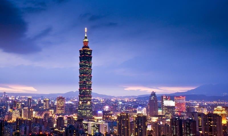 Taipei 101 elevador mais alto do mundo