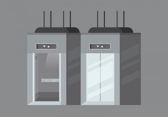 contrapeso de um elevador