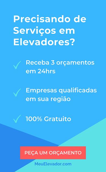 Banner Serviços em elevadores vertical