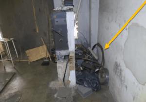 casa de máquinas do elevador