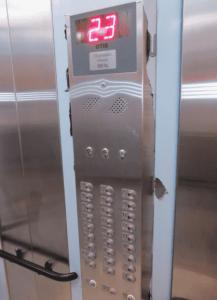 botoeira do elevador