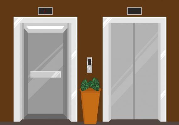 elevador hidráulico ou elevador de tração