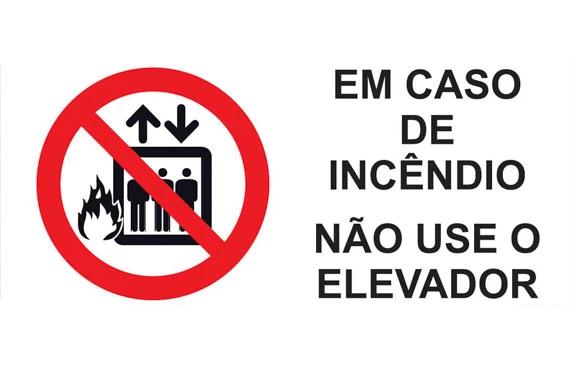 Por que você não pode usar o elevador em caso de incêndio?