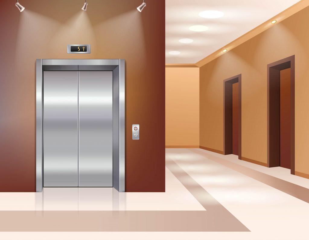 Gasto mensal com elevadores